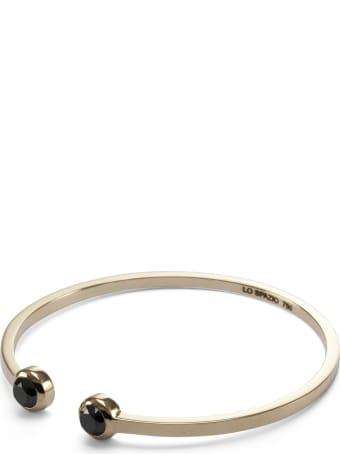 Lo Spazio Jewelry Lo Spazio Black Diamond Bangle