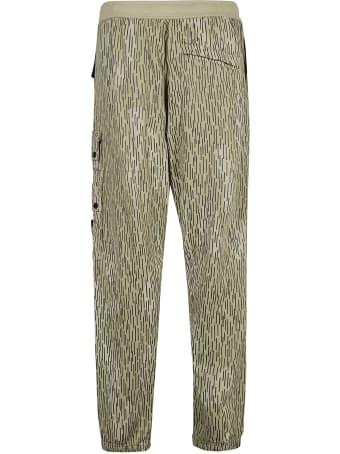 Stone Island Logo Pocket Cargo Trousers