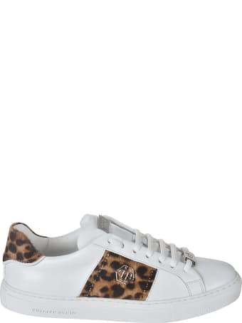 Philipp Plein Lo-top Leopard Sneakers