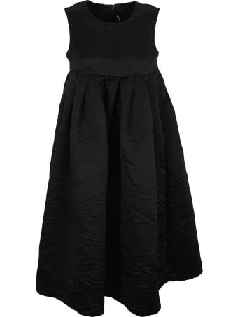 Comme Des Garçons Girl Black Flared Midi Dress