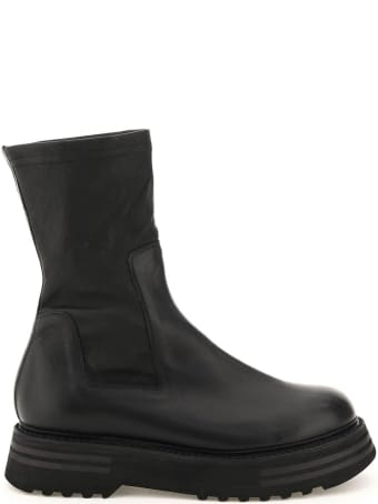 Guidi Leather Ankle Boots