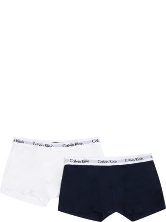 Calvin Klein Multicolor Set For Boy With Logos