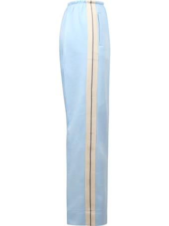 Palm Angels Pantaloni Jogg Loose Blu