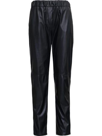 Antonelli Black Leatheret Taoro Pants
