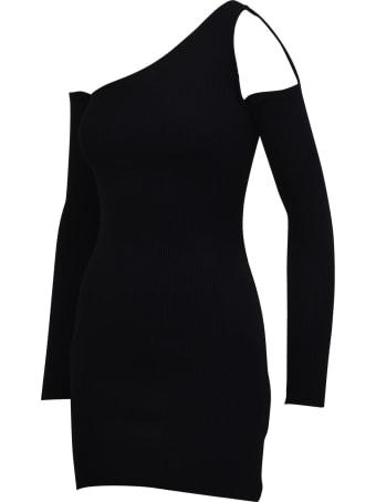 AMIRI Off-shoulder Mini Dress