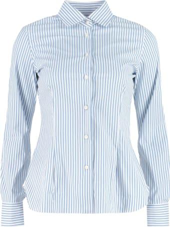 Barba Napoli Striped Cotton Shirt