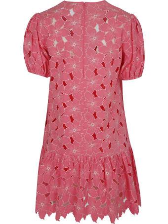 RED Valentino Floral Applique Dress