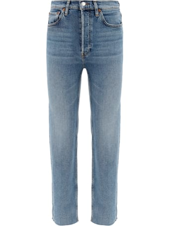 RE/DONE 70 Stove Pipe Jeans