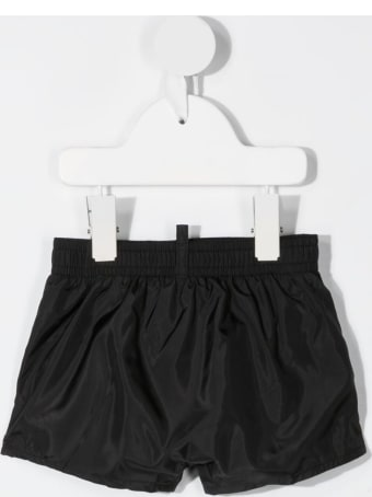 Dsquared2 Newborn Black D2kids Icon Swim Shorts