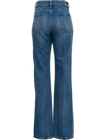 Saint Laurent 60's Flared Denim Jeans