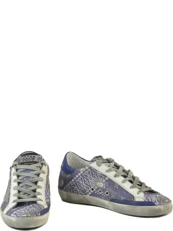 Golden Goose Women's Blue Sneakers