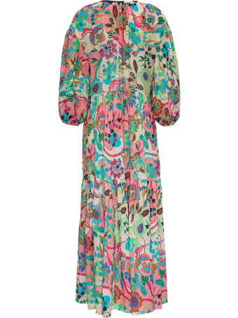 Anjuna Long Floral Cotton Dress