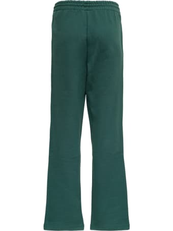 Axel Arigato Flared Organic Cotton Joggers With Logo