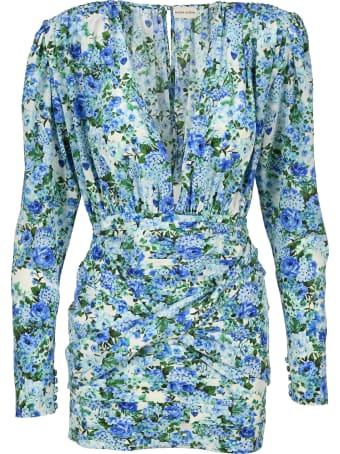 Magda Butrym Floral Print Mini Dress