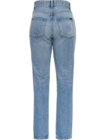 Saint Laurent Five-pockets High-waisted Denim Jeans