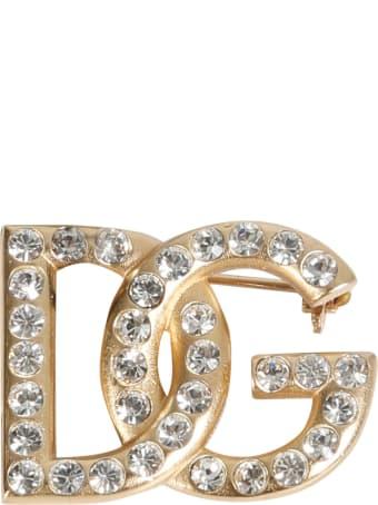 Dolce & Gabbana Diva Logo Brooch