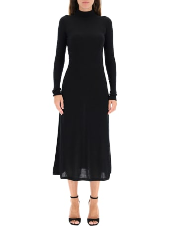 Le Kasha Knit Dress With Cut-out
