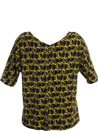 Via Masini 80 V-neck T-shirt