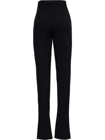 Andamane Helena Black Twill Trousers