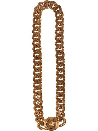 Versace Medusa Head Chain Necklace