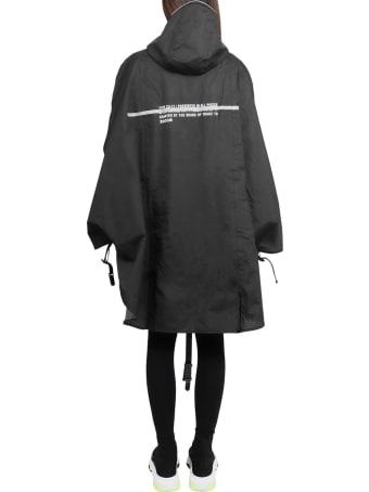 Zucca Black Raincoat