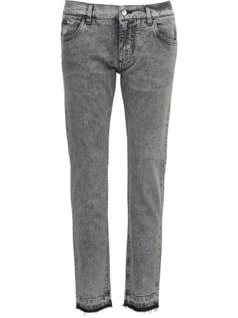 Dolce & Gabbana Gray Denim Jeans