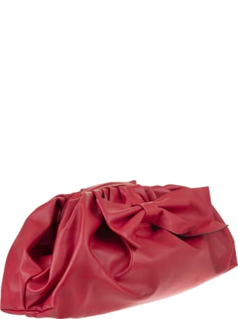 Valentino Maxi Bow Clutch Valentino