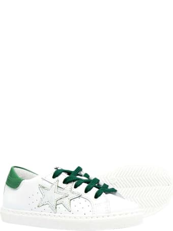 2Star Sneakers With Contrasting Detail
