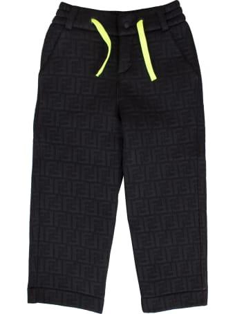 Fendi Child Logoed Trousers