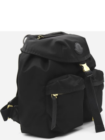 Moncler Large Dauphine Backpack In Nylon Drill
