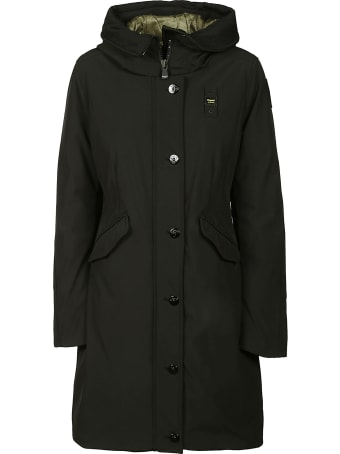 Blauer Buttoned Hooded Parka
