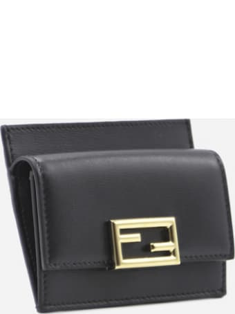 Fendi Fendi Way Leather Card Holder
