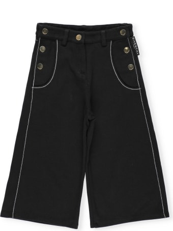 Givenchy Bermuda Short With Golden Loged Buttons