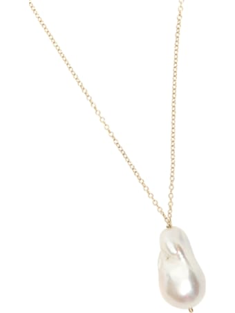 Timeless Pearly Necklace With Pearl