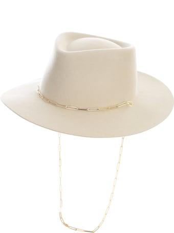 Van Palma Hat W/jewellery Chain