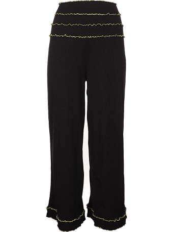 Paskal High Waist Twisted Trousers