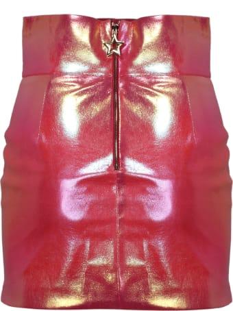 Teen Idol Quilted Star Mini Dress