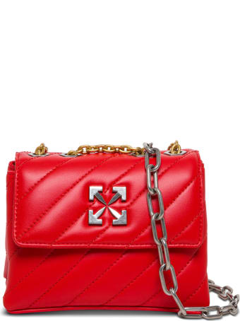 Off-White Jackhammer Crossbody Bag In Quilted Leather