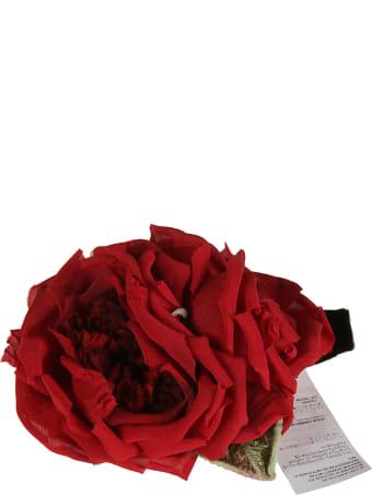 Dolce & Gabbana Rose Applique Choker