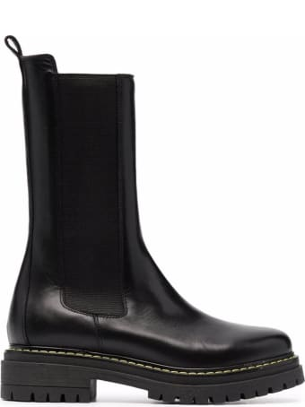 Pinko Calf Leather Natalie 1 Boots