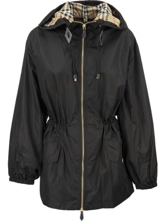 Burberry Binham - Lightweight Econyl® Hooded Jacket