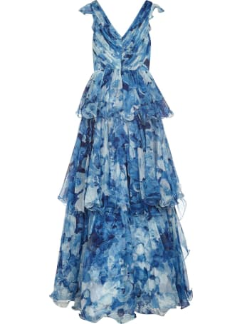 Marchesa Notte Long Dress