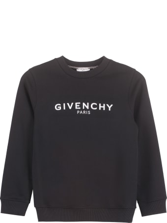 Givenchy Cotton Crew-neck Sweatshirt With Logo
