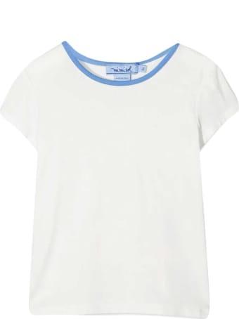 MiMiSol White T-shirt Mi Mi Sol Kids