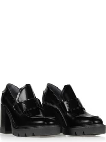Janet & Janet Janet & Janet Black Heeled Loafer