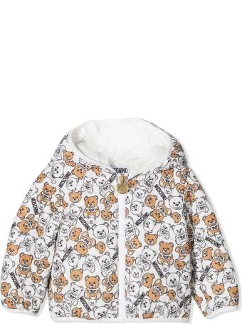 Moschino Teddy Print Padded Jacket