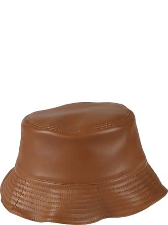 Loewe Logo Patch Zip Bucket Hat