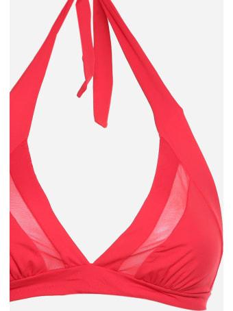Fisico - Cristina Ferrari Triangle Bikini With Mesh Insert