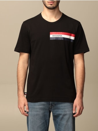 Rossignol T-shirt Rossignol T-shirt With Striped Band