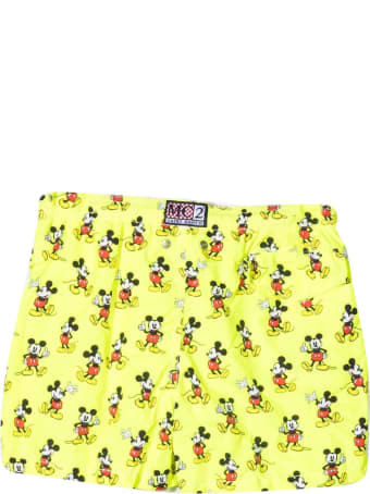 MC2 Saint Barth Mickey Mouse Swimsuit With Print